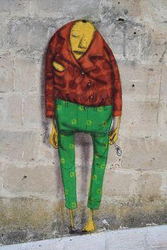 Os Gemeos FAME FESTIVAL 2010, Grottaglie