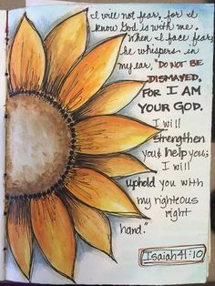 Isaiah Journal of Faith by Lynda Gunderson – … – Wanderlust Bible Verse Art, Scripture Study, Scripture Quotes, Bible Scriptures, 10 Tattoo, Bible Doodling, Isaiah 41 10, Bible Notes, Illustrated Faith
