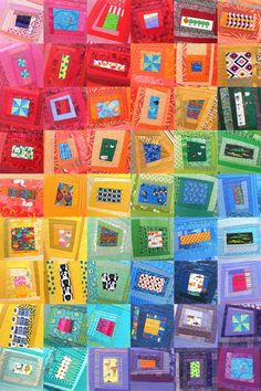 How to Make a Charity Quilt - an easy and fun tutorial from Shiny Happy World