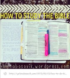 Bible study... We must always be willing to learn from the Master! He is, has, and will always be the most creative.