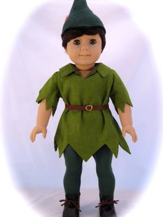 Peter Pan Boy Doll is an  American Girl Doll by enchanteddesigner, $162.00
