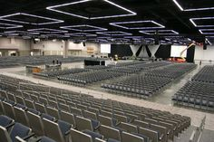 One of the Oregon Convention Center's Exhibit Halls