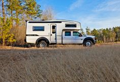 The Siberian Tiger is an all-aluminum on-road/off-road camper that sleeps 4 with a full bath.