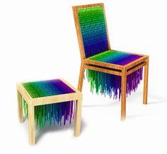 Colorful The Baita Design Wool Seating