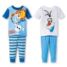 DISNEY FROZEN OLAF PAJAMAS SIZE 3T 4T 5T NEW! #size #pajamas #olaf #frozen #disney