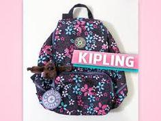 Resultado de imagem para mochilas da kipling