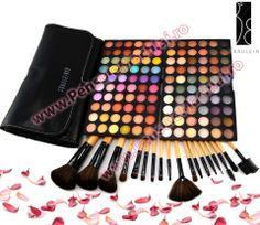 Trusa Farduri 120 culori Fraulein38 Twist Calm + 18 pensule machiaj Neutral, Eyeshadow, Bags, Fashion, Handbags, Moda, Eye Shadow, Fashion Styles, Eye Shadows