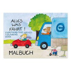 """Lassen Sie Ihr Kind mit dem Mini-Malbuch """"Alles was fährt"""" die Welt der Fortbewegung entdecken! https://www.graetz-verlag.de/mini-malbuch-alles-was-faehrt"""