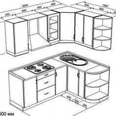 Проекты Kitchen Sets, Kitchen Layout, Home Decor Kitchen, Home Kitchens, Building Kitchen Cabinets, Kitchen Cabinet Doors, Diy Kitchen Storage, Kitchen Organization, Cafe Interior