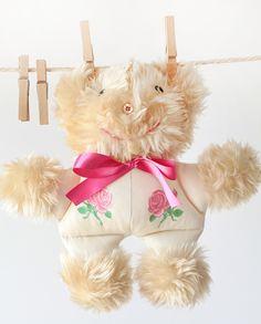 Pluszowy miś teddy bear przytulanka handmade rękodzieło dla dzieci for kids dla dzieci pluszowe zabawki