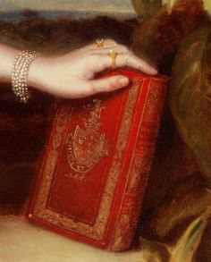 Portrait of Mrs. Alexander Spark (Detail), by Maurice Felton Red Cottage, Ivy House, Woman Reading, Reading Art, Art Graphique, Shades Of Red, Portrait, Book Lovers, Red Color