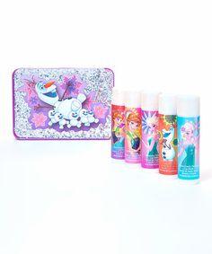 Love this Frozen Fever Lip Balm & Collectible Case by Frozen on #zulily! #zulilyfinds