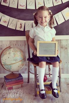Shannon Wight Photography: Back to School Photography #school #photography #vintage