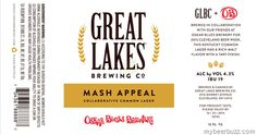 mybeerbuzz.com - Bringing Good Beers & Good People Together...: Great Lakes & Oskar Blues Collaborate On Mash Appe...