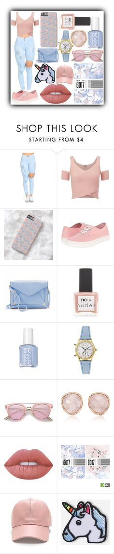 """""""FLIGHT LOG: DEPARTURE"""" by puffer112 ❤ liked on Polyvore featuring Lipsy, Vans, Apt. 9, ncLA, Patek Philippe, Monica Vinader, Lime Crime and Hipstapatch"""