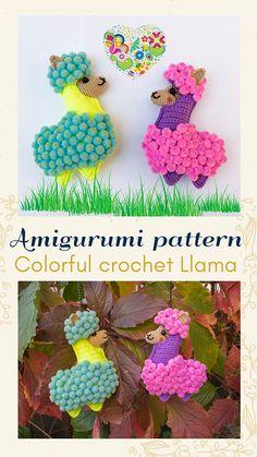 CROCHET Bunny pattern, Amigurumi animal rabbit pattern, Handmade toy