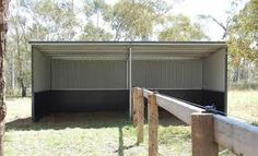 horse stock shelter - Google Search