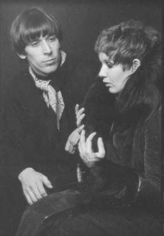 Velvet Underground's, John Cale with Fashion Designer, Betsey Johnson (through the SwingingSixties and still going)