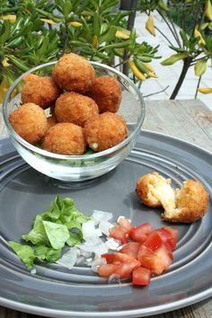 Suppli, les boulettes italiennes au coeur coulant de mozza