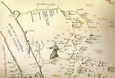 Pimeria Alta mission map / Spanish Arizona