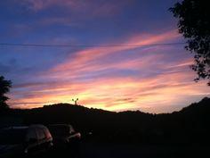 Frankfort, Kentucky at sunset