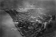 Army Aero Maneuvers Over Detroit 1931 Archival Photo Poster Photo at AllPosters.com