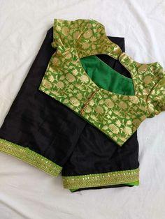 Blouse Design Catalogue For Best Fancy design Blouse Design Indian Blouse Designs, Brocade Blouse Designs, Blouse Designs High Neck, Simple Blouse Designs, Stylish Blouse Design, Designer Blouse Patterns, Saree Blouse Designs, Sari Blouse, Saree Dress
