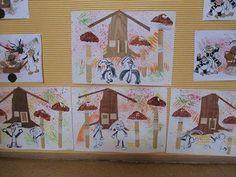 Křemílek a Vochomůrka Fairy Tale Crafts, Advent Calendar, Fairy Tales, Crafts For Kids, Templates, Holiday Decor, School, Books, Education