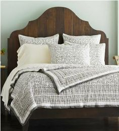 Eco friendly- fair trade organic cotton bedding.