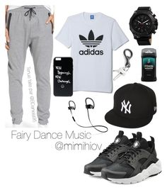 """Untitled #177"" by daniela95140 on Polyvore featuring adidas, Zanerobe, Joshua & Sons, New Era, Beats by Dr. Dre, NIKE, Axe, men's fashion and menswear"