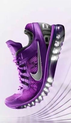 #VCHealthyLife   Maybe if I had purple sneakers I would exercise?