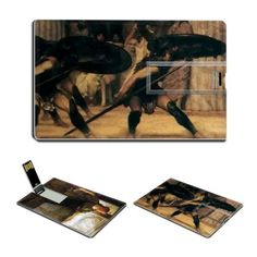 A Love Missile A Pyrrhic Dance by Lawrence Alma-Tadema Oil Painting USB Flash Drive - www.dealok.com