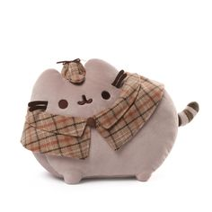 GUND is proud to present Pusheen — a chubby gray tabby cat that loves cuddles, snacks, and dress-up. As a popular web comic, Pusheen brings brightness and chuckles to millions of followers in her rapi