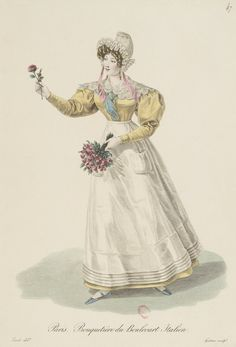 266 fantastiche immagini in Fashion Plates - Early 1800 s su ... 706d72a1664