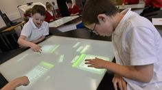 In a recent study, multi-user multi-touch desks were found to help students do better at math.