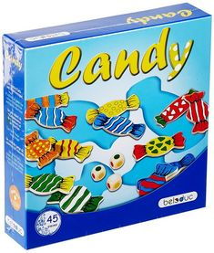 Candy - Players hold three colors in memory while searching. Tobi and his sister Lisa received a bag of candy from their mother for he. Family Game Night, Family Games, Games For Kids, Toddler Toys, Kids Toys, Stack Game, Hape Toys, Candy Games, Therapy Games