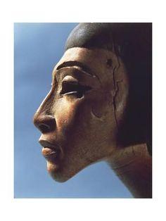 Giclee Print: Egypt, Ornamental Detail of an Harp Found in El-Amarna, Eighteenth Dynasty : 24x18in