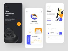 YABUSY Mobile App by Afterglow Mobile Ui Design, App Ui Design, Web Design, Application Design, Mobile Application, Library App, App Design Inspiration, Mobile App Ui, Motion Design