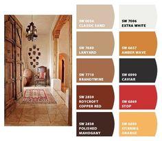 Ideas Home Living Room Brown Paint Colors Bathroom Paint Colors, Kitchen Paint Colors, Paint Colors For Living Room, Paint Colors For Home, Exterior Paint Schemes, Paint Color Schemes, Exterior Paint Colors For House, Exterior Colors, Basement Color Schemes