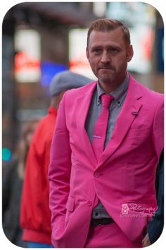 #NYC #pink #male