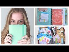 What's in my Filofax / Kikki K planner   StyleplaygroundTV - YouTube