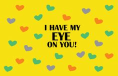 I Have My Eye On You Customizable Valentines Day Patch Designs By Power Kids