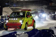 2012 FIAT 500 ice racing