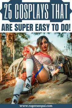 In this post, you'll find 25 easy cosplay ideas that don't require any cosplay crafting skills whatsoever. These are cosplay ideas easy enough for all genders and body types! Focus Photography, Photography Women, Single Line Tattoo, Easy Cosplay, Final Fantasy Cosplay, Meaningful Tattoos For Women, Temporary Tattoo Designs, Black Wig