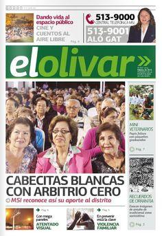 """Periódico """"El Olivar de San Isidro"""" N° 2 - Marzo 2015"""