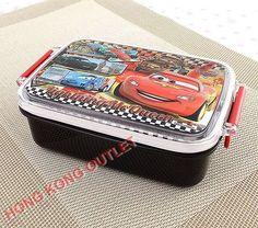 Disney Pixar Car Bento Lunch Box Case JAPAN MADE  G7c