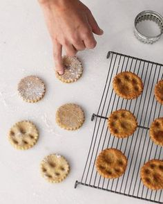 Paw-Print Dog Treats. You can use your fingers to mark all sorts of treats - freezing before baking will help hold the design. Bet it would even work with Sugar Cookies for the human half of the team.