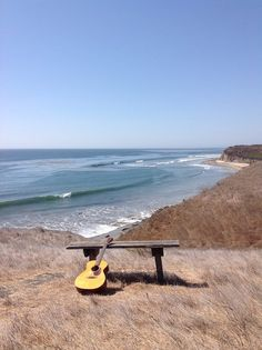 guitar & beach
