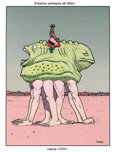 Moebius - Martian Wildlife