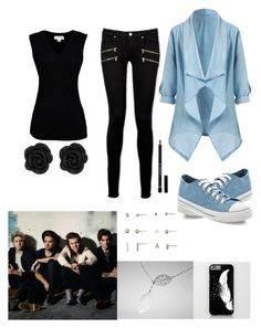 """""""one direction"""" by meen16 ❤ liked on Polyvore featuring Velvet by Graham & Spencer, Paige Denim, Aéropostale, New Look and Givenchy"""
